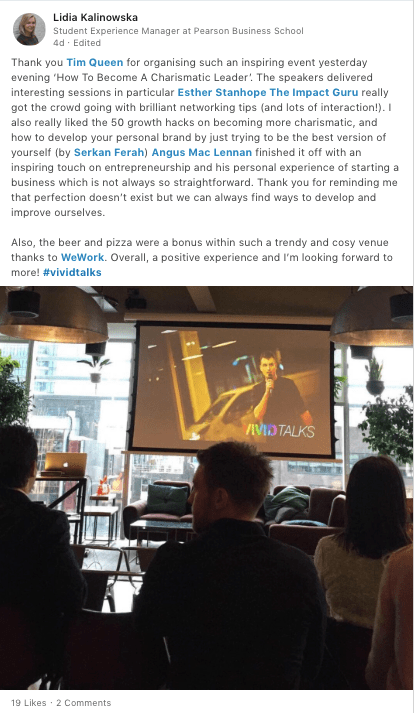 Vivid-Talks-How-To-Become-A-Charismatic-Leader-at-WeWork-Aldgate-Tower-London-on-April-25-2018-Praise-02
