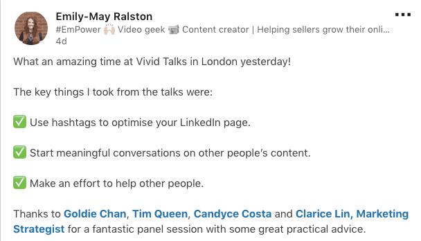 Vivid Talks Social Praise 3