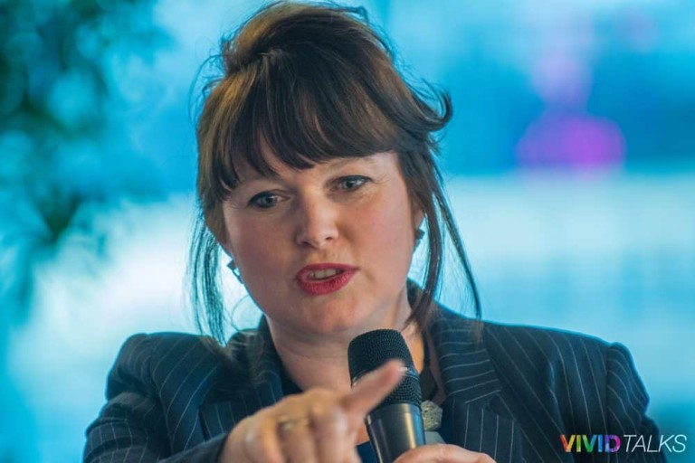 Esther Stanhope Vivid Talks WeWork Aldgate April 25 2018 by Steven Mayatt DSC_0151