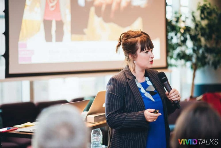 Esther Stanhope Vivid Talks WeWork Aldgate April 25 2018 by Alex Smutko Jpg-0061