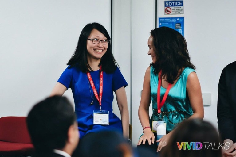Vivid Talks Pearson Business School June 14 2018 by Alex Smutko Clarice Lin DSC_8450