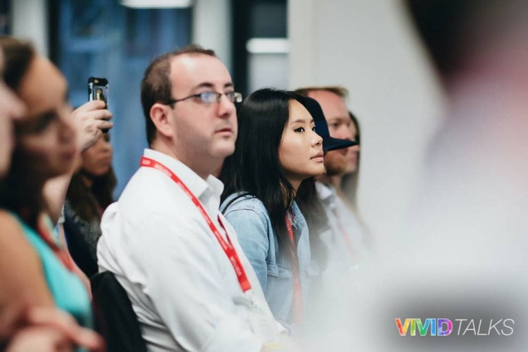 Vivid Talks Pearson Business School June 14 2018 by Alex Smutko Audience DSC_8245
