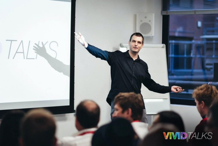 Vivid Talks Pearson Business School June 14 2018 by Alex Smutko Tim Queen DSC_8213