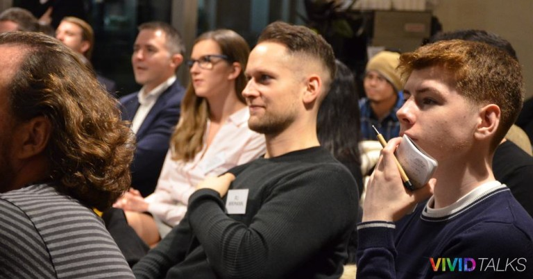 Vivid Talks on January 31 2018 at WeWork Hammersmith in London - 0014