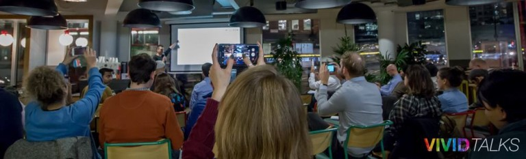 Vivid Talks on December 5 2017 at WeWork Paddington in London - 0007
