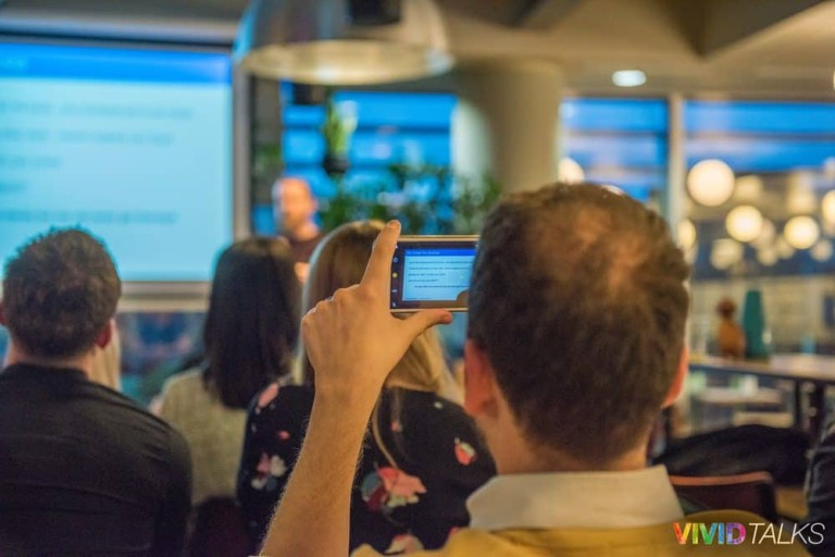 Angus MacLennan Vivid Talks WeWork Aldgate April 25 2018 by Steven Mayatt 810_6048