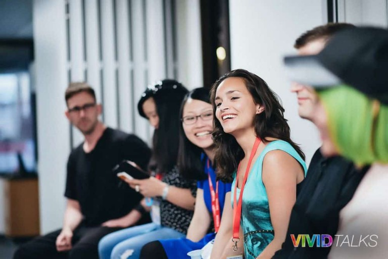 Vivid Talks Pearson Business School June 14 2018 by Alex Smutko Clarice Lin DSC_8503