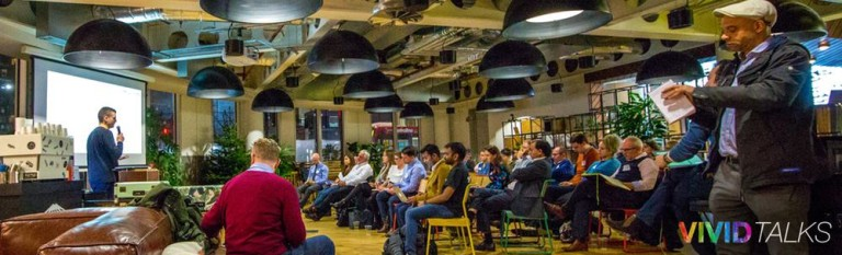 Vivid Talks on December 5 2017 at WeWork Paddington in London - 0005