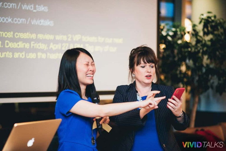 Clarice Lin Vivid Talks WeWork Aldgate April 25 2018 by Alex Smutko Jpg-0264