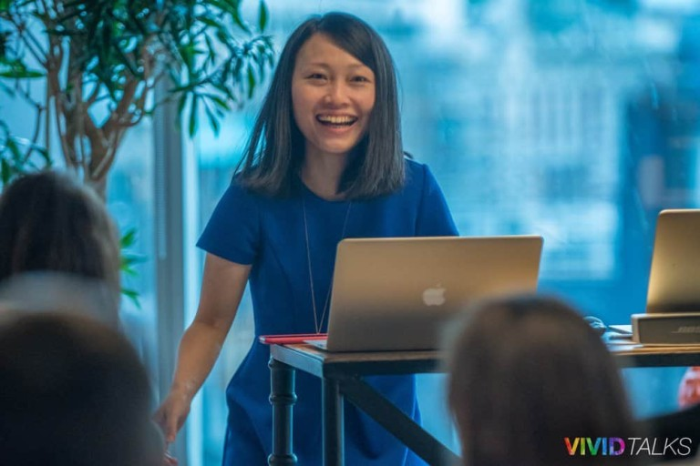 Clarice Lin Vivid Talks WeWork Aldgate April 25 2018 by Steven Mayatt DSC_0069