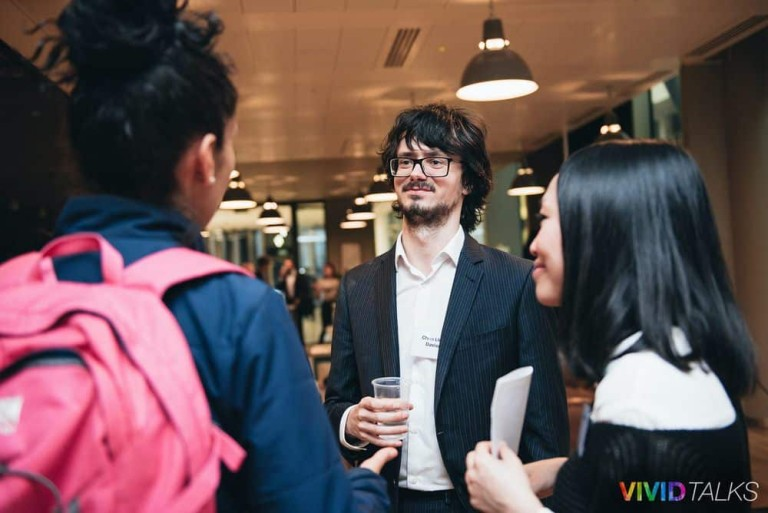 Vivid Talks on May 16 2018 at WeWork Moorgate in London - 0283