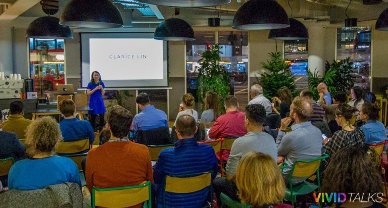 Vivid Talks on December 5 2017 at WeWork Paddington in London - 0000
