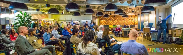 Vivid Talks on December 5 2017 at WeWork Paddington in London - 0004