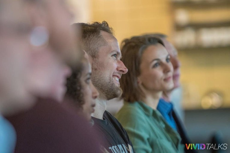 Vivid Talks WeWork Aldgate April 25 2018 by Steven Mayatt DSC_0125