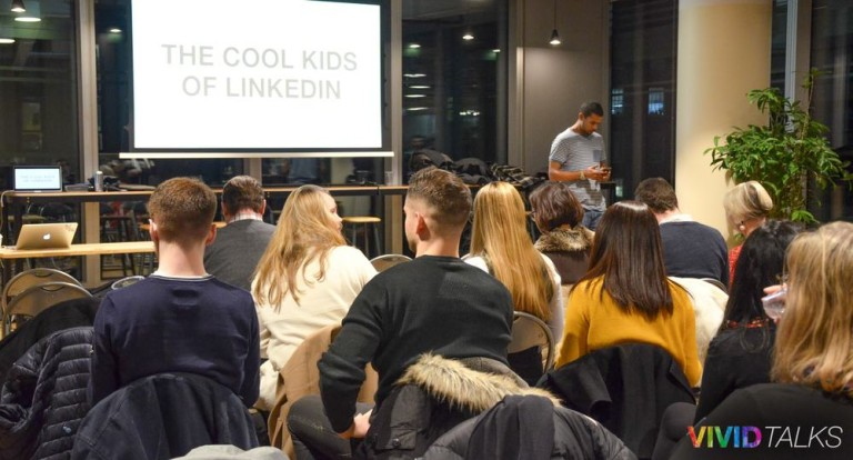 Vivid Talks on January 31 2018 at WeWork Hammersmith in London - 0002