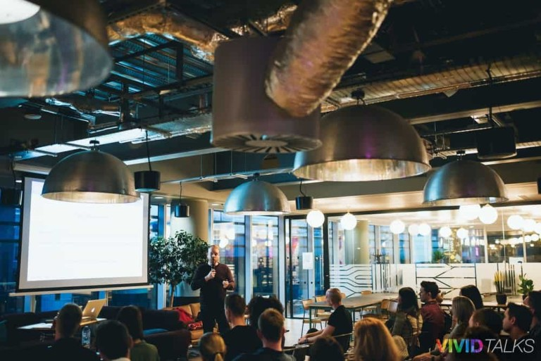 Angus MacLennan Vivid Talks WeWork Aldgate April 25 2018 by Alex Smutko Jpg-0245