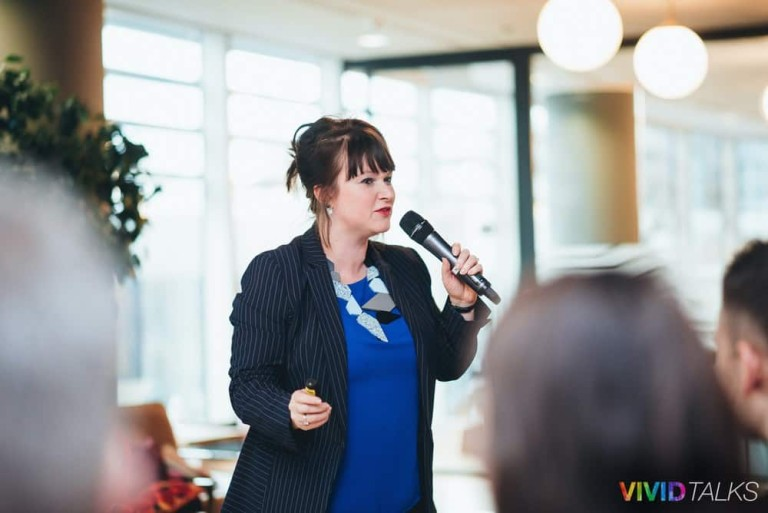 Esther Stanhope Vivid Talks WeWork Aldgate April 25 2018 by Alex Smutko Jpg-0105