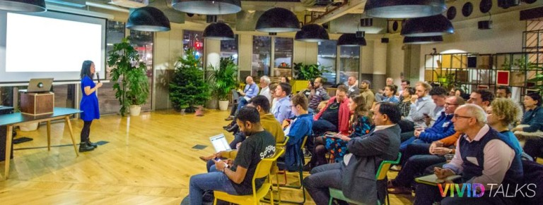 Vivid Talks on December 5 2017 at WeWork Paddington in London - 0001