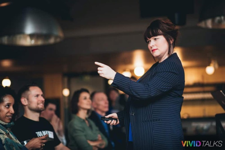 Esther Stanhope Vivid Talks WeWork Aldgate April 25 2018 by Alex Smutko Jpg-0087