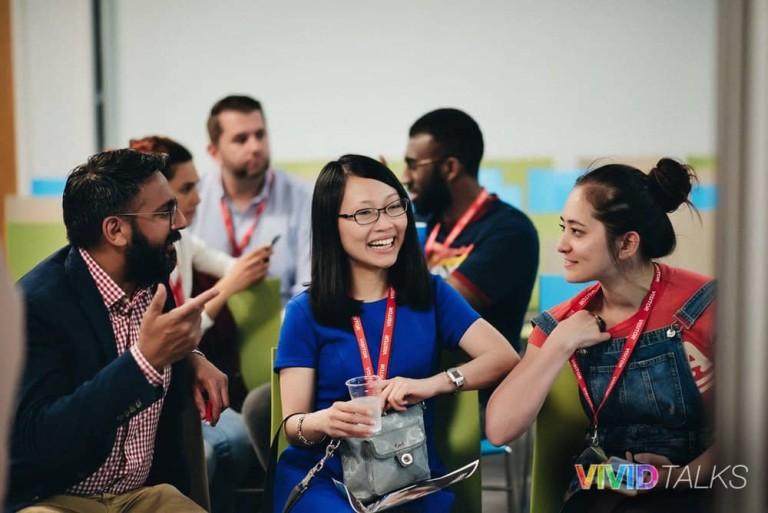 Vivid Talks Pearson Business School June 14 2018 by Alex Smutko Clarice Lin DSC_8198