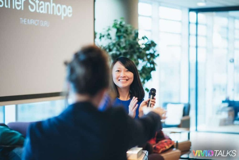 Clarice Lin Vivid Talks WeWork Aldgate April 25 2018 by Alex Smutko Jpg-0058